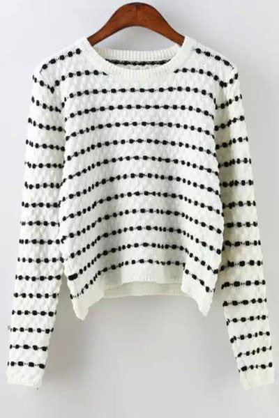 Polka Dot Long Sleeves Jumper от Zaful.com INT