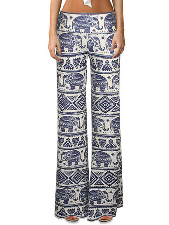 new Elephant Print Bell Bottoms - COLORMIX S