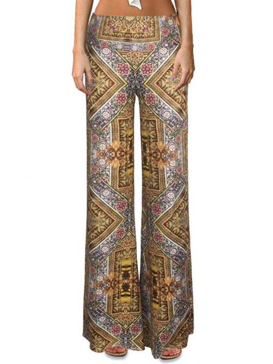 Pantalones Tribales de Altura Cintura - Colormix XL