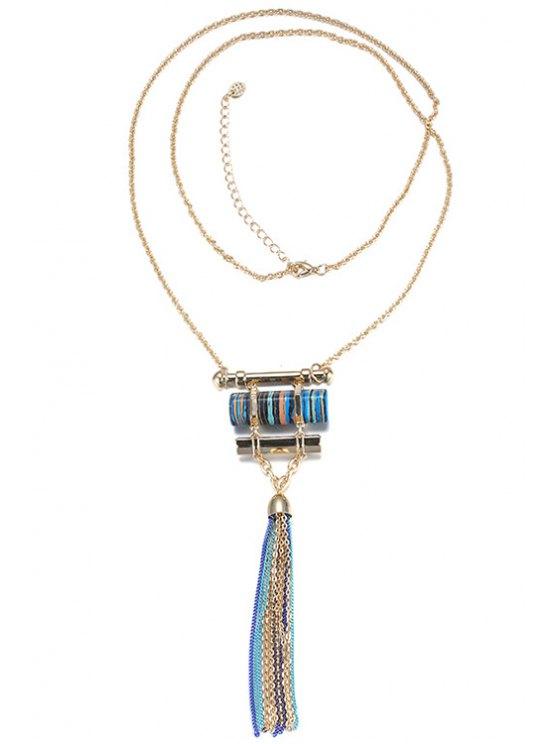 best Chain Tassels Necklace For Women - GOLDEN