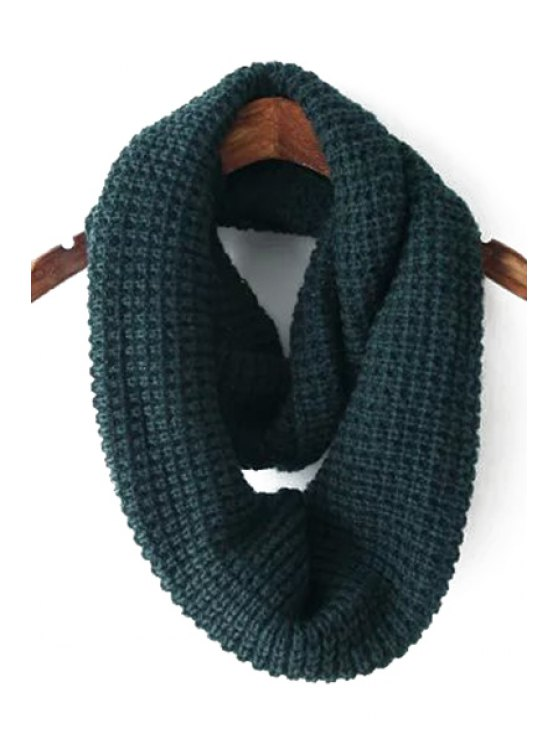 new Pure Color Knitted Neck Warmer - GREEN