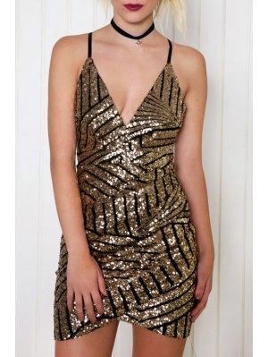 Sequins Cami Bodycon Dress