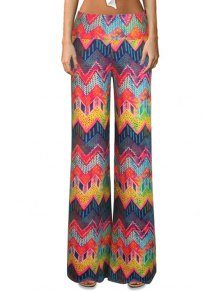 Chevron Stripe Colorful Bell Bottoms
