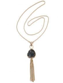 Chain Tassel Pendant Necklace For Women