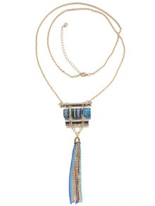 Chain Tassels Necklace For Women