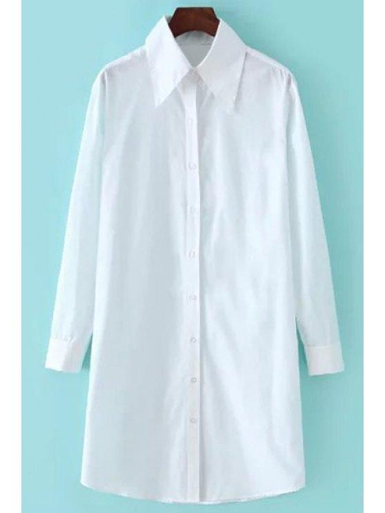shop OL Style White Shirt - WHITE S