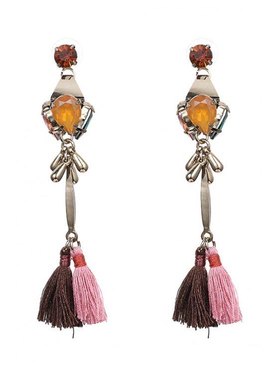 buy Tassel Pendant Jewelry Earrings - COLORMIX