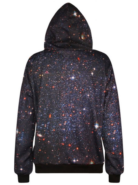 women Tiger Pattern Long Sleeve Pullover Hoodie - BLACK ONE SIZE(FIT SIZE XS TO M) Mobile