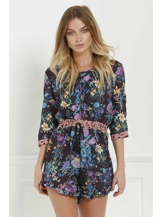 online Gypsy Queen Romper by Spell The Gypsy Collective - BLACK S