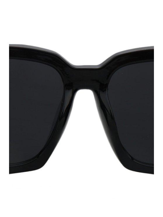 Black Quadrate Sunglasses - BLACK  Mobile