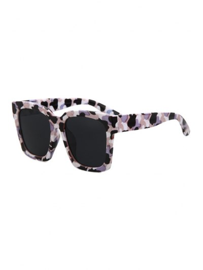 Quadrate Camouflage Sunglasses - Black