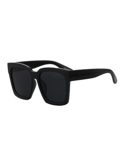 Black Quadrate Sunglasses - Black