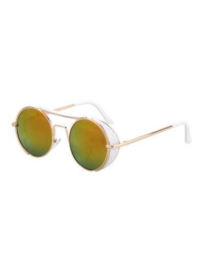 Retro Round Sunglasses - Colormix