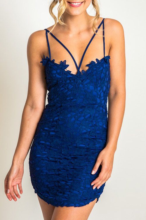 Cami Lace Bodycon Dress