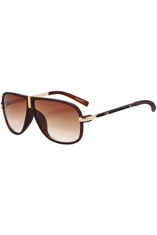 Big Frame Solid Color Sunglasses