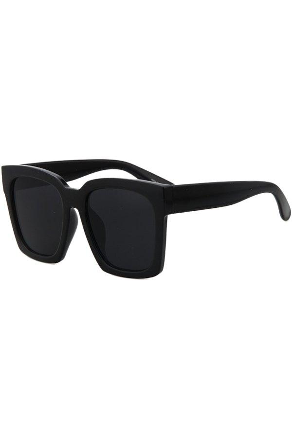 Black Quadrate Sunglasses