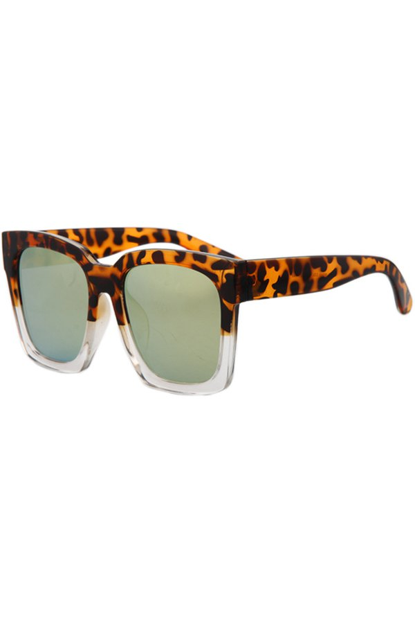 Multicolor Quadrate Sunglasses