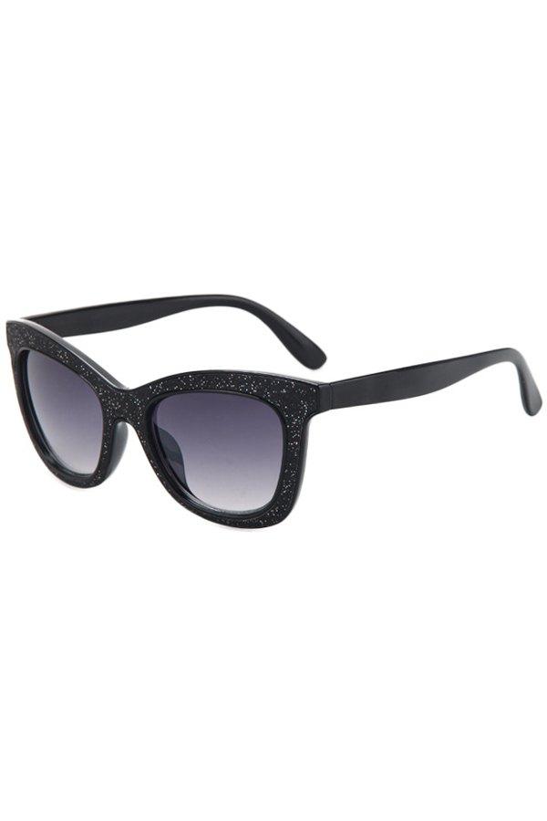 Glitter Powder Frame Sunglasses For Women