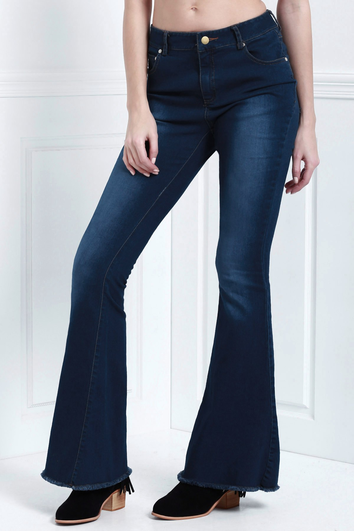 Denim Super Flare Jeans