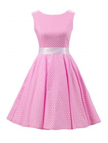 Sleeveless Polka Dot Pin Up Dress