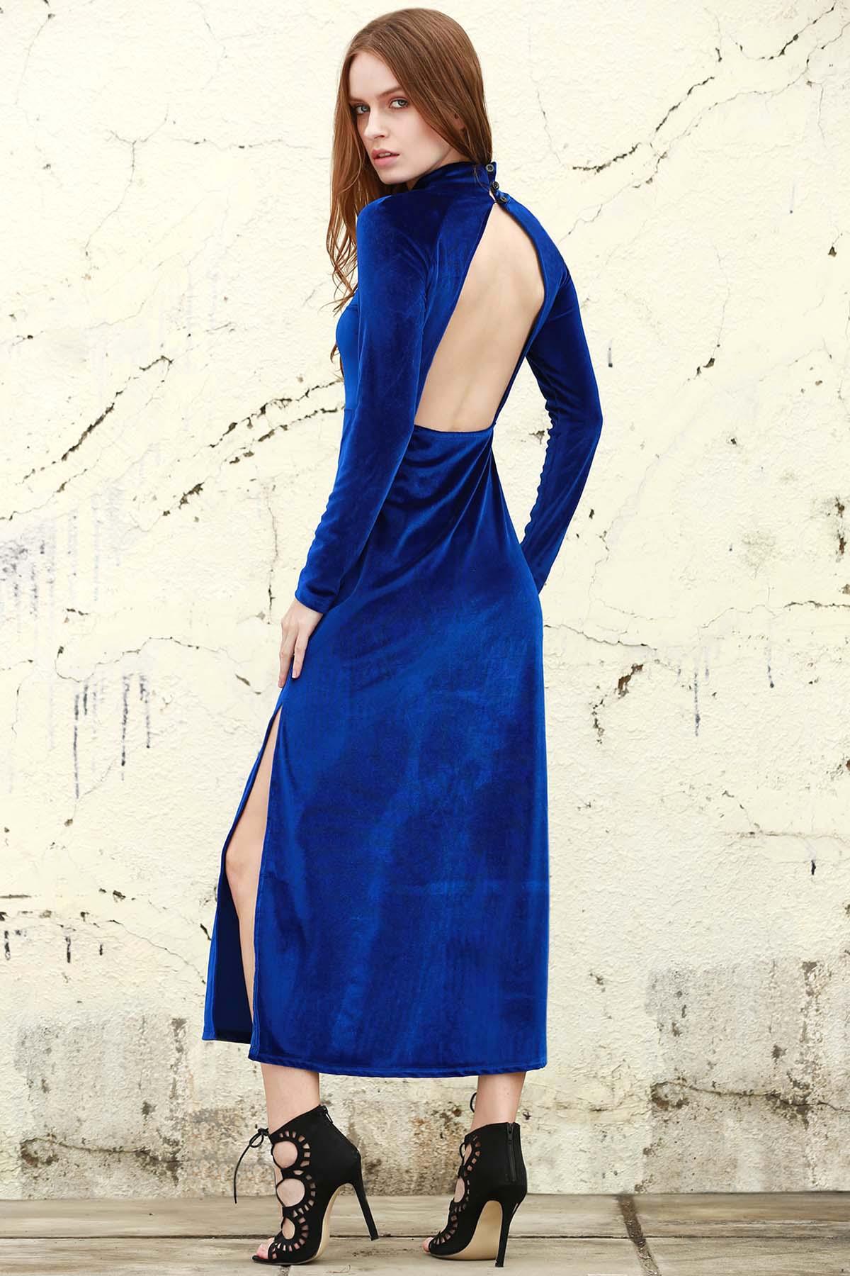Zealot for Velvet Maxi Dress