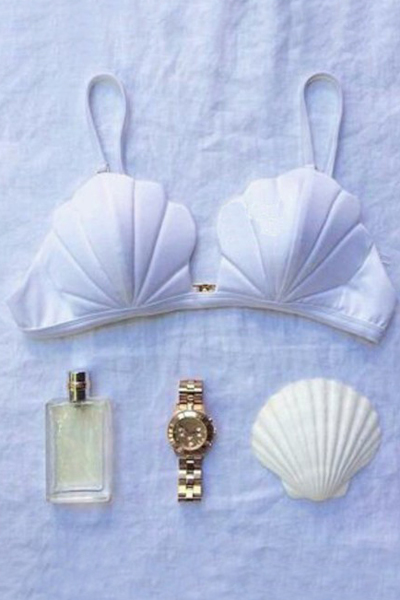 Shell Shape Bra