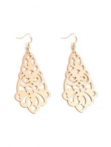 Flower Hollow Out Earrings