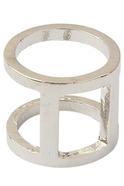 Sinple Style Two-Layered Arthrosis Ring