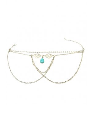 Ethnic Turquoise Water Drop Armlet