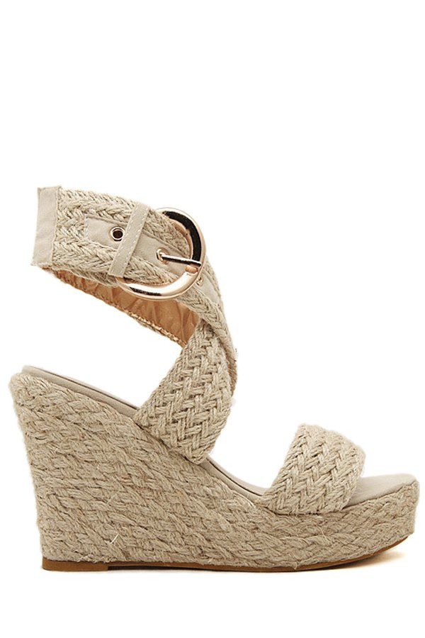 Cross-Strap Design Sandals For Women