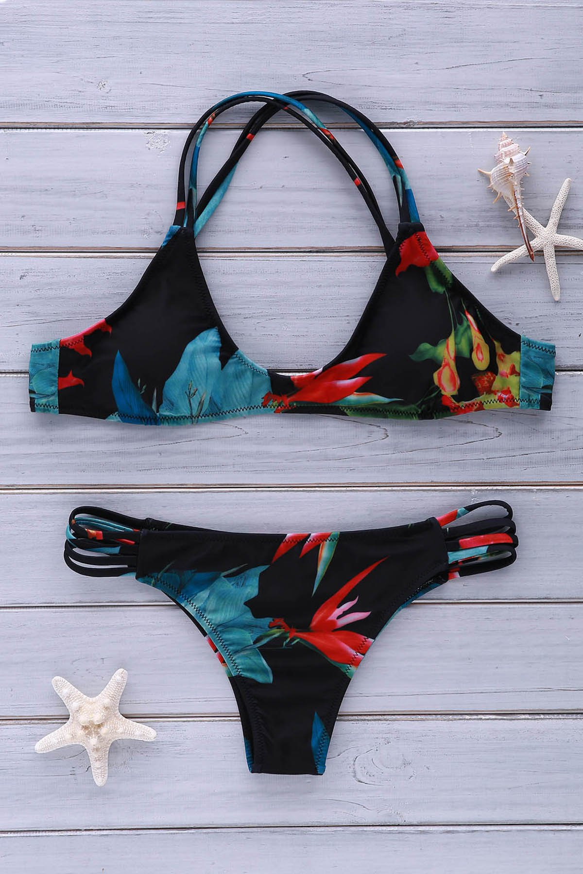 Cami Floral Print Bikini Set