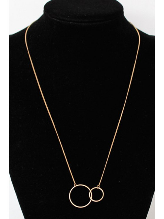 Round Pendant Necklace -   Mobile
