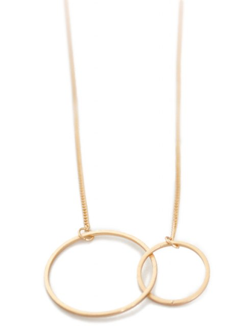 buy Round Pendant Necklace -   Mobile