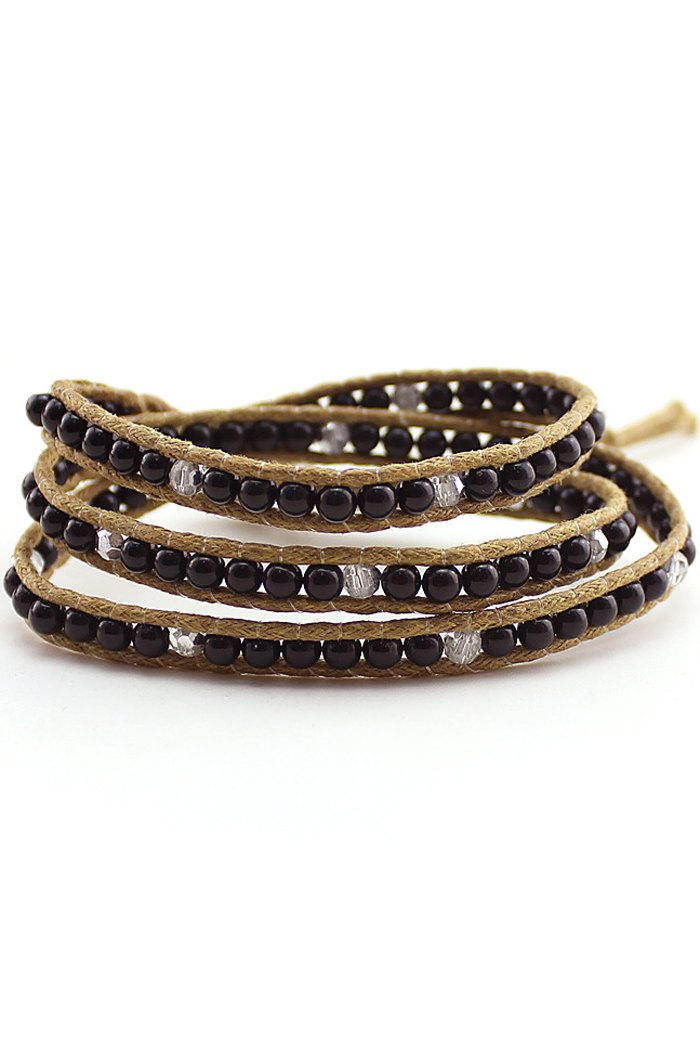 Bead Multi-Layered Wrap Bracelet