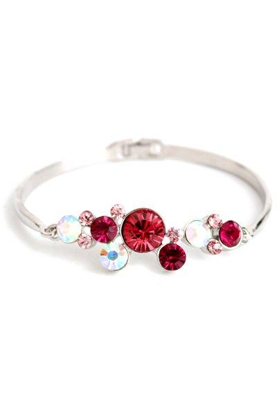 Trendy Rhinestone Decorated Bracelet
