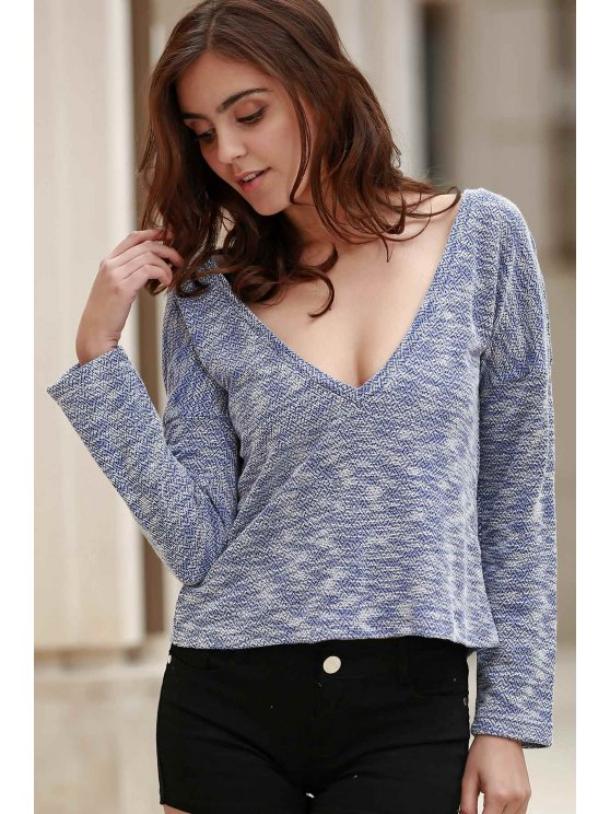 Resultado de imagen para Draped Sleeve Knit T-Shirt -