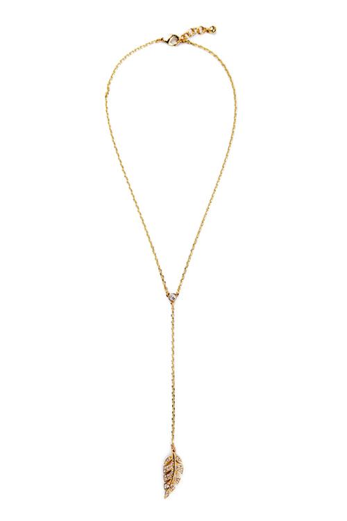 Vintage Long Style Leaf Necklace For Women