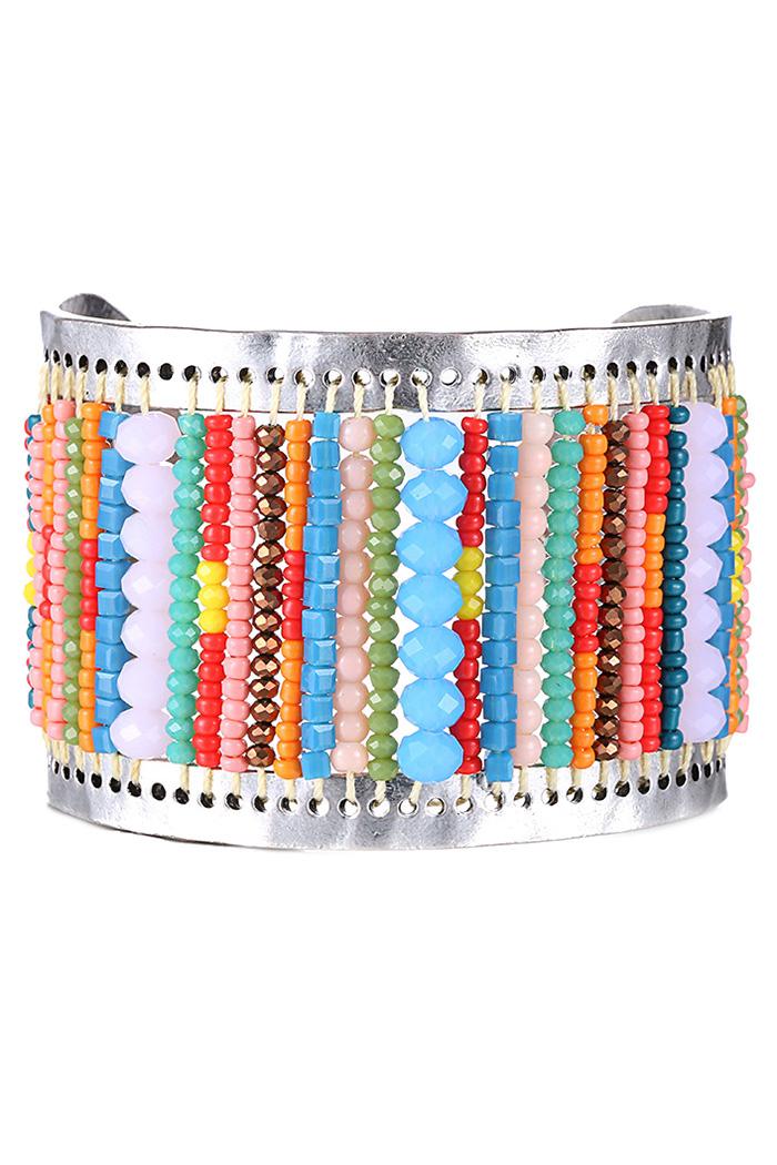Bead Cuff Bracelet