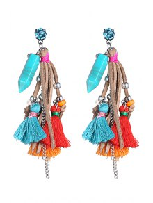Stylish Colorful Tassel  Earrings