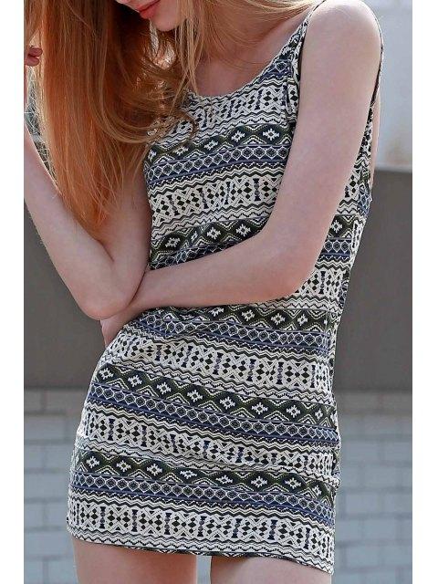 outfit Argyle Print Cami Bodycon Dress - COLORMIX XL Mobile