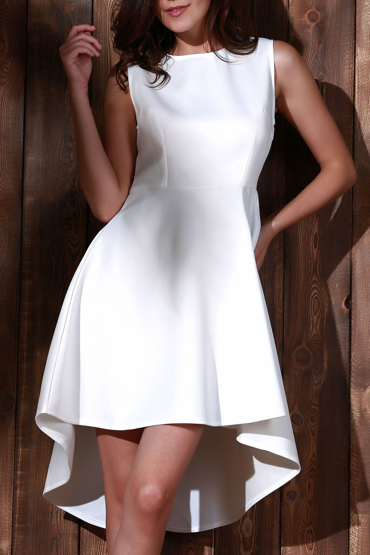 High Low A Line Dress