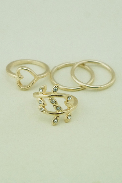 Chic Simple Style Alloy Rings