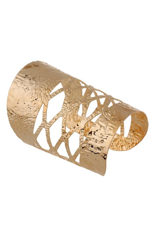 Chunky Matte Cuff Bracelet