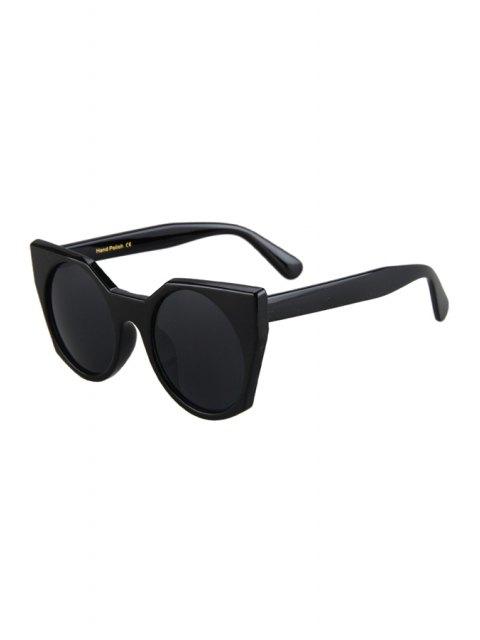 new Round Lenses Black Cat Eye Sunglasses - BLACK  Mobile