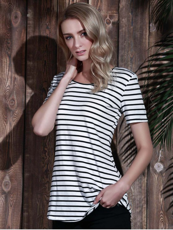 Stripes Tunic T-Shirt - STRIPE M Mobile