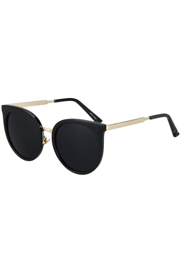 Metal Splicing Cat Eye Sunglasses
