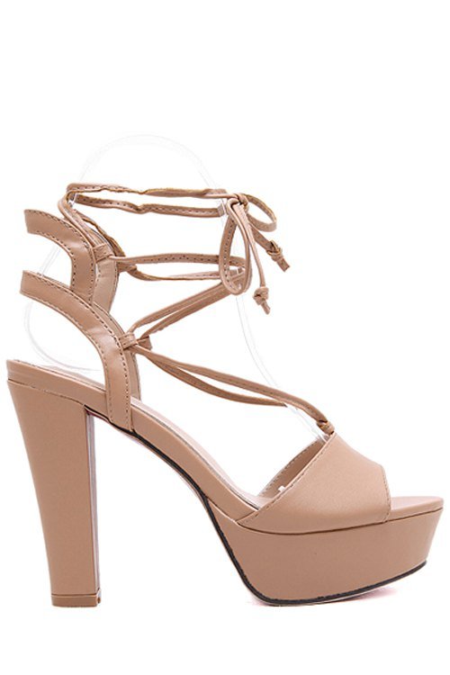 Peep Toe Design Sandals For Women