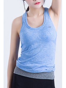 Racerback Fitted Quick Dry Tank Top