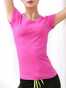 Short Sleeve Yoga T-Shirt