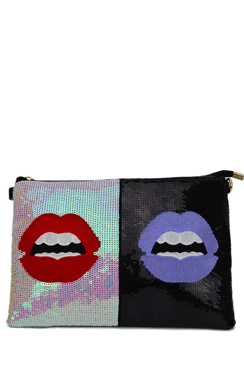 Lip Design Clutch Bag For Women